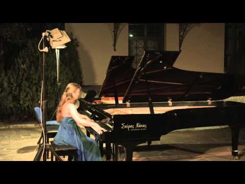 Elizaveta Frolova - piano recital Greece 2014