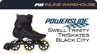2018 Powerslide Swell Trinity Black City Skates Review
