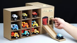 how to Make Vending Machine with Toy Cars from Cardboard