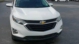 Alonzo at Massey Toyota with pre owned 2019 Chevy Equinox LT  with less than 30,000 miles, cloth