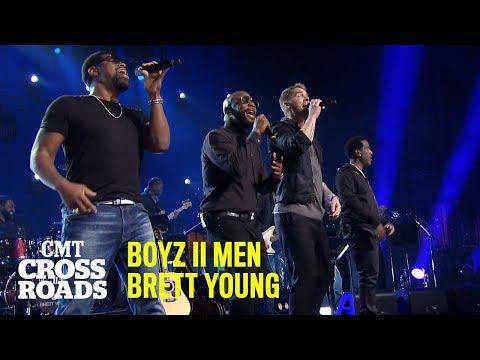 Boyz II Men & Brett Young 'Catch' | CMT Crossroads