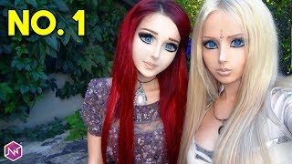 Download lagu Wanita CANTIK ini Manusia PALING MIRIP Boneka Barbie