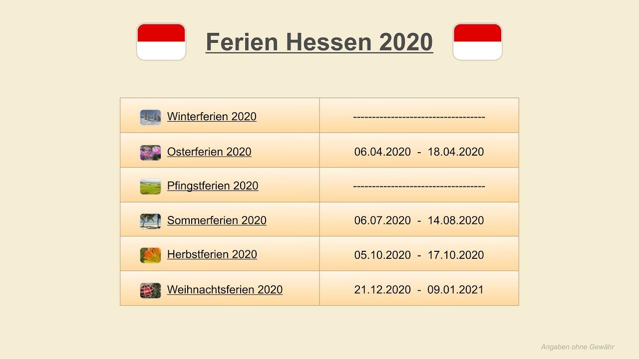herbstferien 2021 hessen