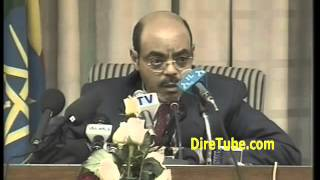 PM Meles Zenawi Life Story in English