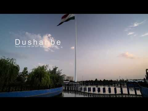Timelapse Fragment 20: Dushanbe Flagpole (not the tallest in the world) 4K