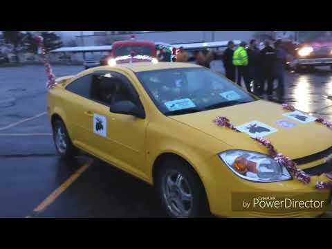 West Pittston Santa Parade 12/2/18 from Moose Mobile point of view