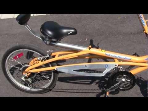 New Semi-Recumbent Bike