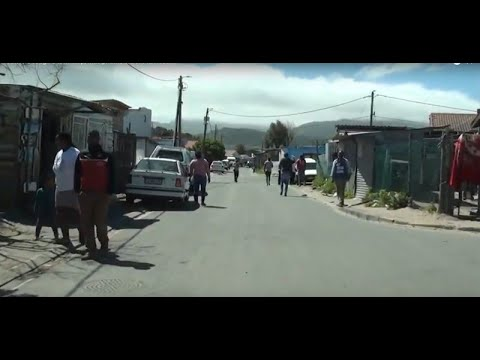 A Drive Through A Township, Masiphumelele Of Fish Hoek