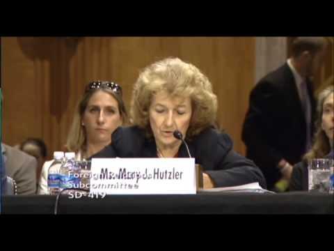 Hutzler Testifies Before Senate Foreign Affairs Subcommittee