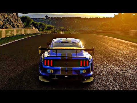 Gran Turismo Sport – Gameplay Ford Mustang GT Gr.3 @ Dragon Trail Seaside [1080p 60fps]