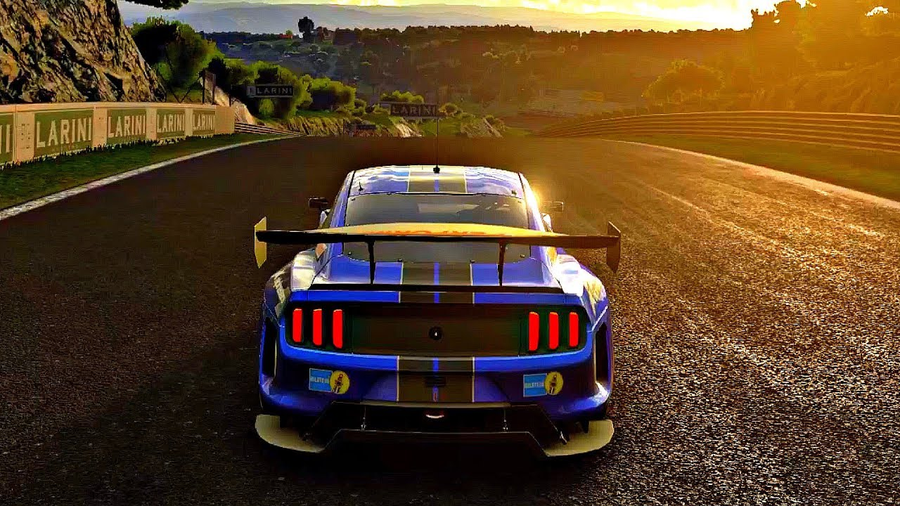 Car Sport Wallpaper Full Hd Gran Turismo Sport Gameplay Ford Mustang Gt Gr 3