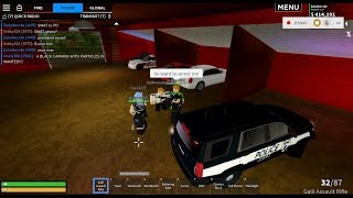 Roblox Liberty County-Swat escorte Trump