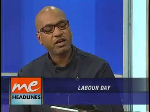 Cdes. Ozzi Warwick and Joseph Remy speaking on Morning Edition about Labour Day 2014