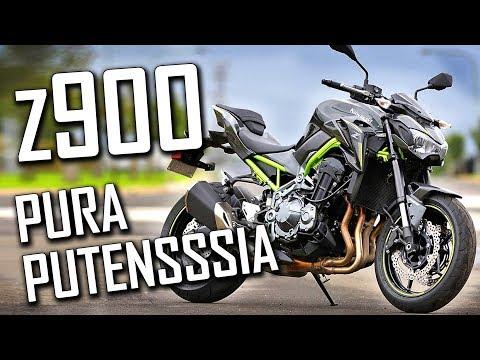 UNA ZETA VERDE - Kawasaki Z900 A2 A FONDO!! ¿Tal vez la mejor moto del A2?