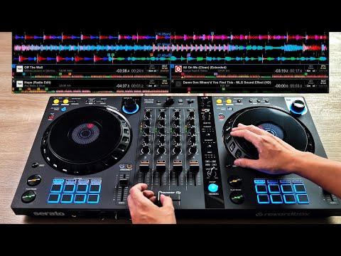 PRO DJ DOES INSANE MIX ON THE DDJ-FLX6 - Creative DJ Mixing Ideas for Beginner DJs
