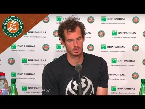 Andy Murray - Press Conference after Final...