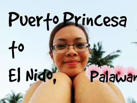 VLOG| Puerto Princesa to El Nido, Palawan ❤️ | SOLO TRAVEL| Day 1 | Dec. 10,2014