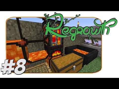 FTB Regrowth - Crucible Furnace And Ingot Cast - Part 8