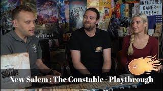 New Salem : The Constable - Board Game Walkthrough