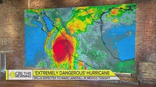 """Extremely Dangerous"" Hurricane Willa Threatening Mexico's Coast"