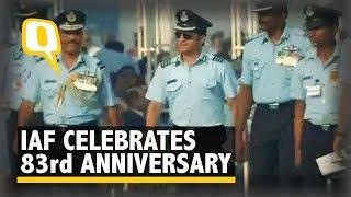 Sachin Tendulkar Joins the Celebrations of IAF's 83rd Anniversary