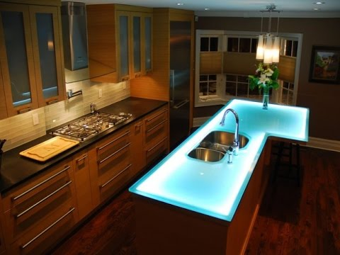 Glass Countertops | Glass Tile Countertop | Countertops | 18 | Ideas