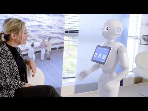 Amadeus' experimental travel agent's assistant using the Pepper robot