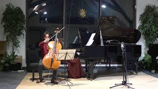 Debussy : Cello Sonata - Paul Heyman (cello), Isil Bengi (piano), Live recording