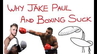 Jake Paul vs GradeAUnderA  - The Biggest PRBLM In Boxing