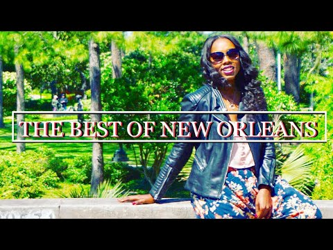NEW ORLEANS BEST FOOD, JAZZ MUSIC, FRENCH QUARTER & CEMETERY ♾ 888