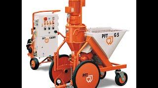 Гипсовая машинная штукатурка, Механическая штукатурка под обои 220 вольт(, 2014-10-27T14:57:08.000Z)