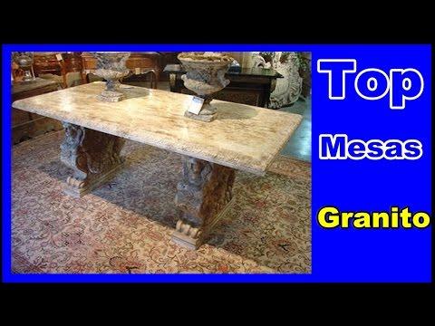 Mesas de Granitos - 12 modelo de mesa em granito