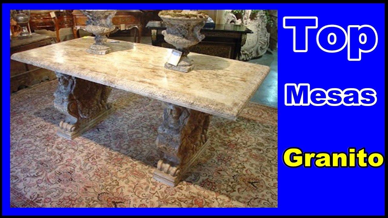 Mesas de granitos 12 modelo de mesa em granito youtube - Mesa de granito ...