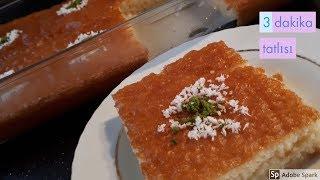 Süt Şerbetli 3 Dakika Tatlısı - Hülya Ketenci - Tatlı Tarifleri