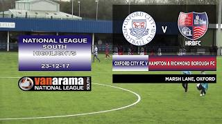 Oxford City FC v Hampton & Richmond Borough FC