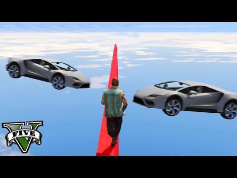 GTA V Online: CORREDORES vs CARROS - IMPOSSÍVEL DESAFIO!