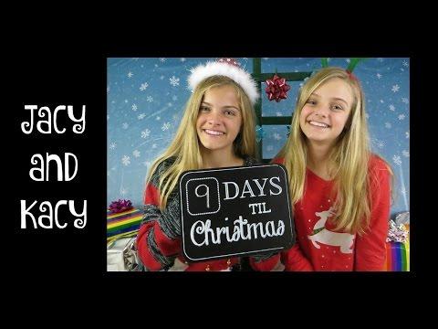 Countdown to Christmas 2015 ~ Day 16 ~ Jacy and Kacy