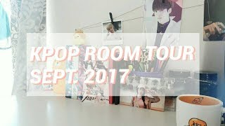Kpop room tour | Sept. 2017 🌻