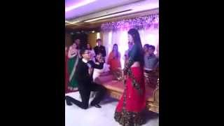 Nice  And Cute Proposal In Marriage Hall