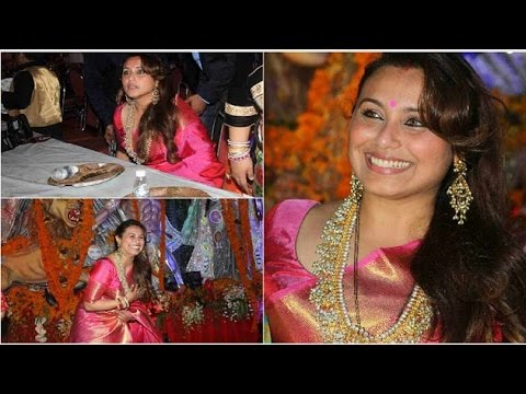 Rani Mukherjee's first public outing after daughter Adira's birth