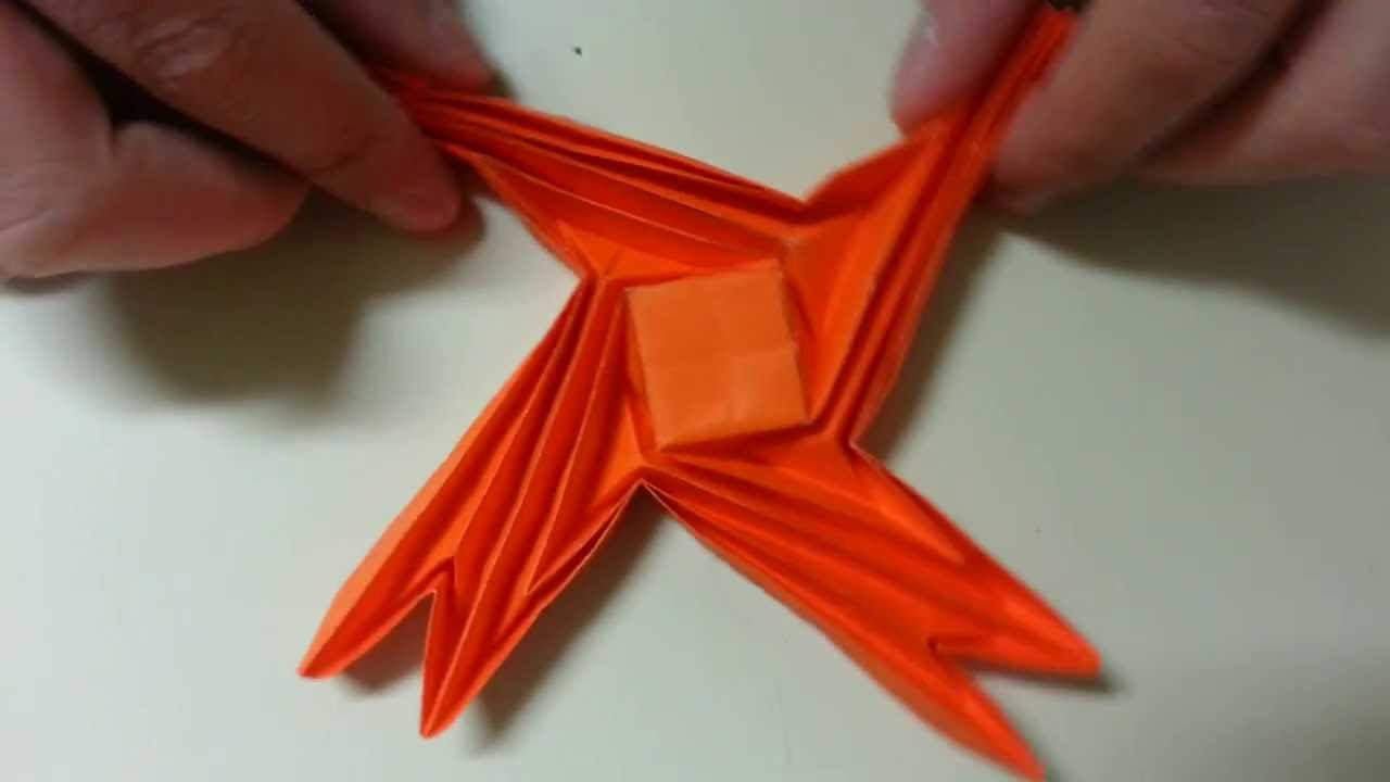Origami Simple Flasher Labyrinth, Designed By Jeremy ... - photo#5
