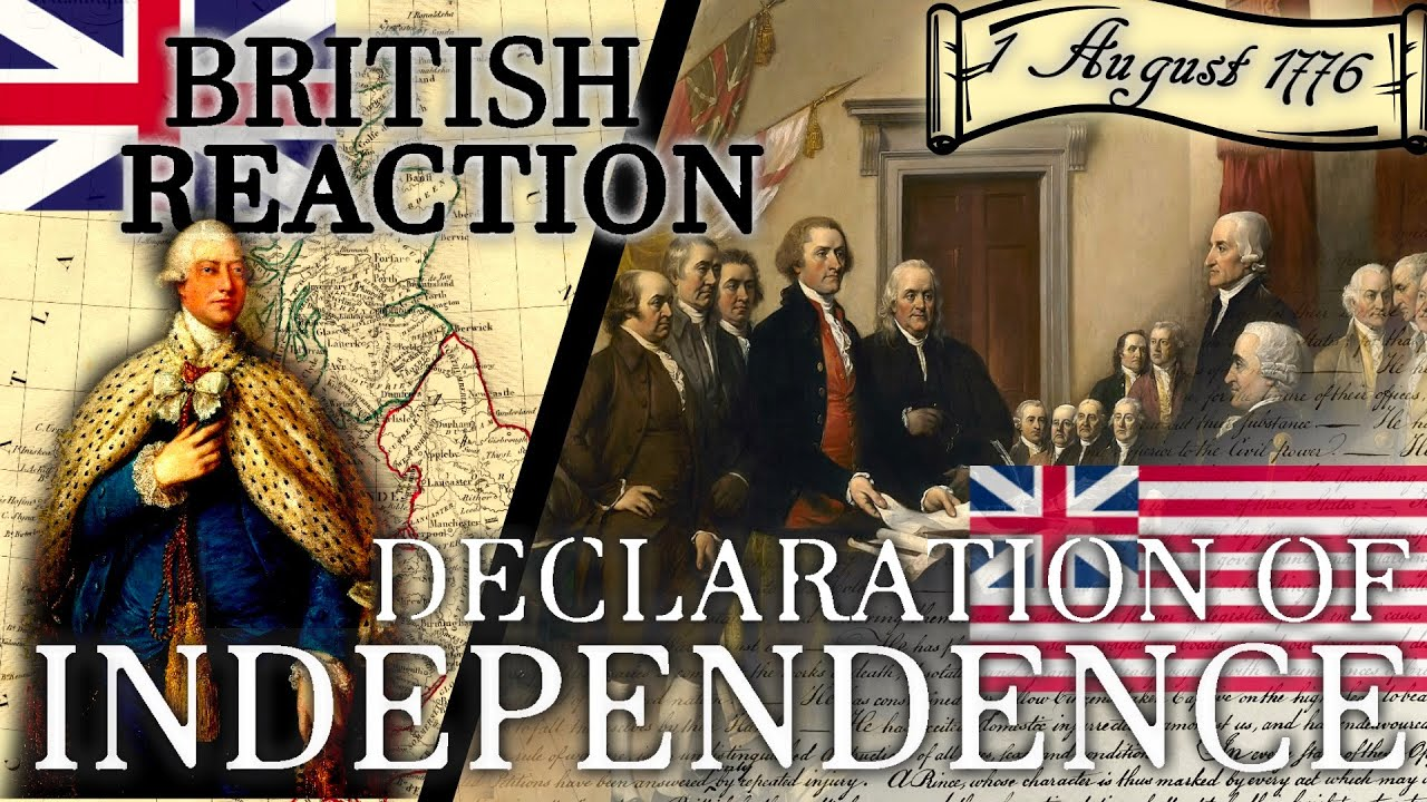 "British Reaction from 1776 to Declaration of Independence // ""The Scots Magazine"" // Primary Source"