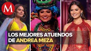 Estos fueron los atuendos de Andrea Meza en Miss Universo 2021