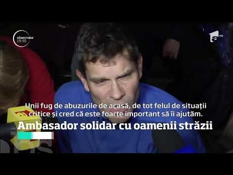 Ambasadorul Marii Britanii la Bucureşti, Paul Brummell, solidar cu oamenii străzii