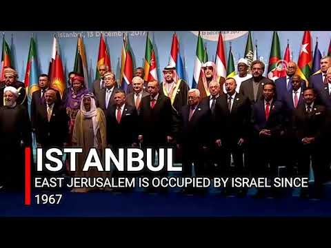 Islamic countries recognize East Jerusalem as capitol of Palestine