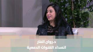 د.روان الفار - انسداد القنوات الدمعية