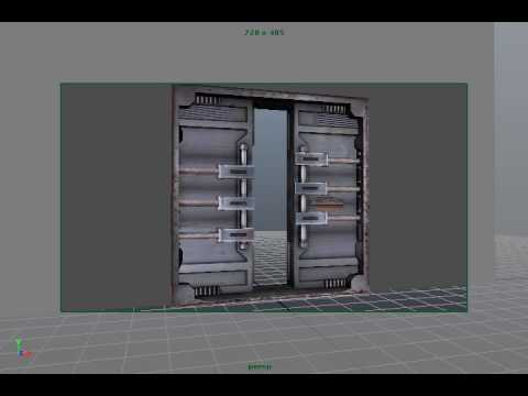 Game Animation - Bunker Door Opening & Game Animation - Bunker Door Opening - YouTube