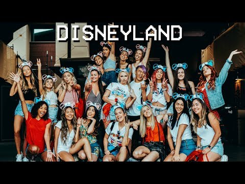 Disneyland with YouTubers || FarinaVlogs
