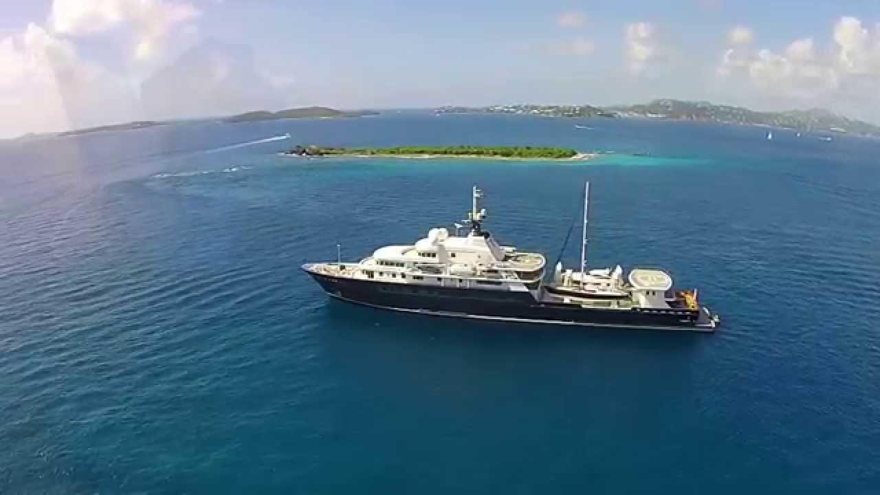 Le Grand Bleu Super Yacht Youtube