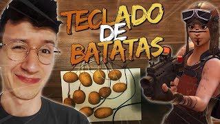 IMPOSSÍVEL?! TECLADO DE BATATAS NO FORTNITE